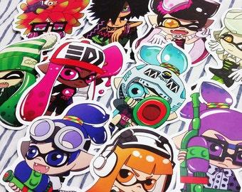 Splatoon Stickers