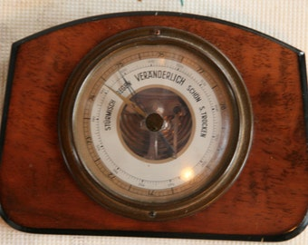 mid century barometer of german origin.