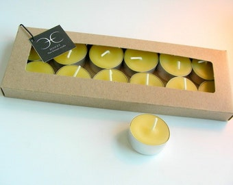 Beeswax Tea Lights