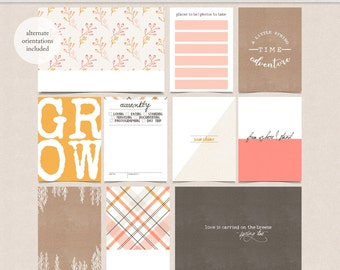 Spring Time - Project Life Pocket Page Cards