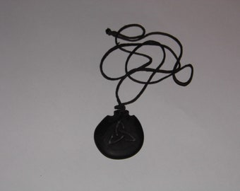 Your Choice 5 Natural Black Stone -Rock- Necklaces - Men or Women - Priority Shipping! More in Shoppe!