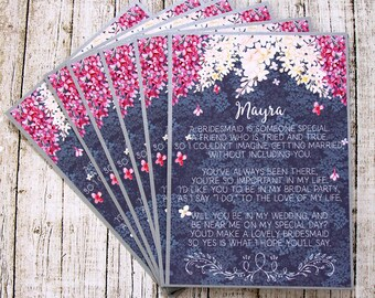 Asking Maid Of Honor - Be My Maid Of Honor - Maid Of Honor Card - Ask Maid Of Honor - Will You Be My Maid Of Honor - Ask Matron Of Honor