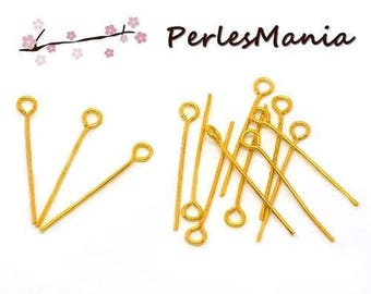 PAX: 500 stems look Golden length 30mm by 0.7 mm S111660