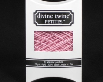 NEW-Divine Twine Petites- (20 yards)-Light SOLID PINK