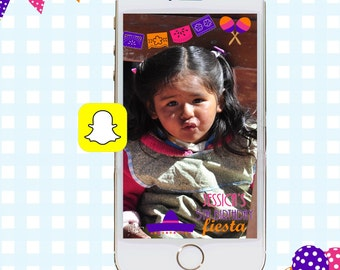 Snapchat GeoFilters, Birthday Snapchat Filters, Party Snapchat Filter, Fiesta Snapchat GeoFilter, Mexican Geofilter, Cinco De Mayo Filter