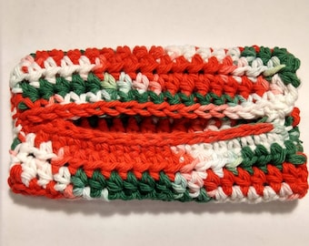 Crochet Pocket Tissue Cover