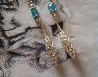 """Earrings """"Blue Duchess"""""""