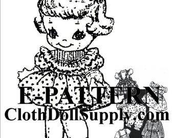 E-Pattern – Little Dolly & Wardrobe Sewing Pattern #EP 7422