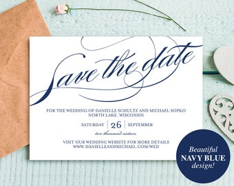 publisher save the date templates