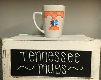 Tennessee Vols Volunteers Inspired Monogram Mug Power T