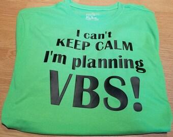 Planning VBS tshirt