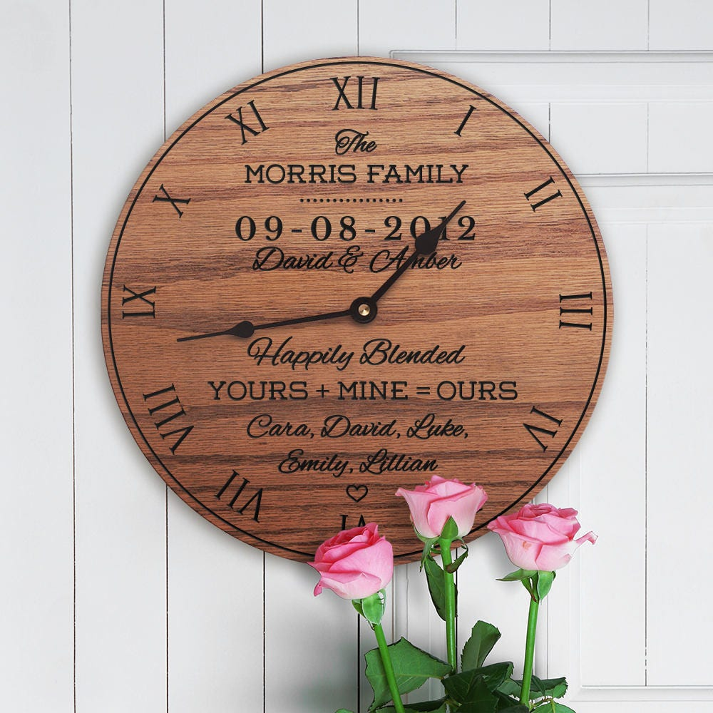 Wedding Gifts For Relatives: Personalized Wedding Gift For Blended Family Wedding Gift