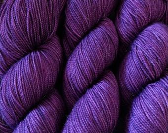 Purple Velvet - Aubrey fingering weight