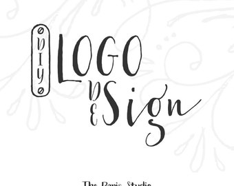 Vintage Sewing Machine Logo Pay As You Go Custom Logo Design Dressmaker Website Logo Blog Logo Business Logo Branding Fashion Boutique Logo