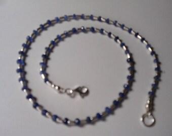 Sapphire Necklace (lightblue)  (JK659)