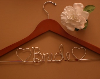 GRAND OPENING/Personalized Hanger/Personalized Wedding Hangers/Personalized Custom Wedding Hanger/Weddings/Bride/Wire Hangers.