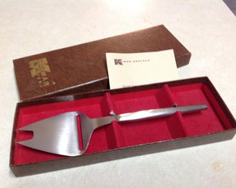 kalmar designs stainless steel cheese slicer plane cheese server cheese knife japan original box kalmar cheese slicer kalmar party - Golf Club Shipping Box