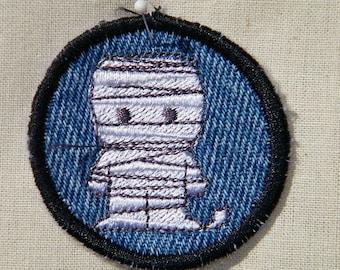 Little Mummy Halloween Patch / Merit Badge