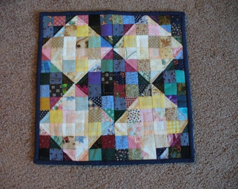 Miniature Doll Quilt or Candle Mat
