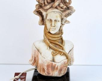 Medusa Snakeheaded Mythology Monster great sculpture statue