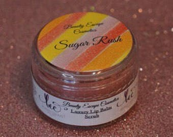 Luxury Lip Balm Scrub - Sugar Rush