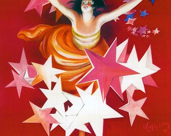 Canvas Gallery Wrap Giclee Vintage Ad Poster Gancia Vermouth Cappiello Alcohol