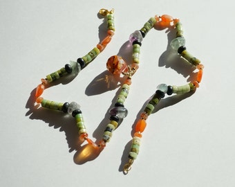 Tropical Tangerine necklace