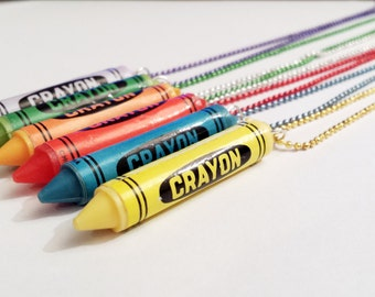 Sale! Crayon Necklace
