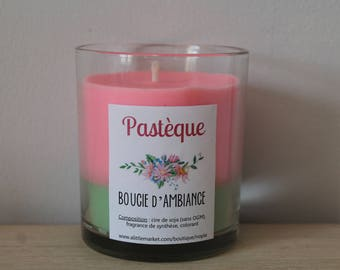 Candle of atmosphere to ►pasteque◄ soy wax