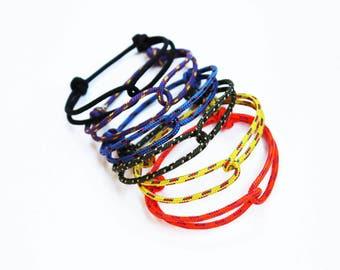 Set of 3 - Unisex Hugging Loop Rock Climbing Bracelet