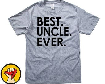 Uncle Shirt Best Uncle Ever T-shirt MENS T shirt Husband Gift Fathers Day Gift Uncle Gift Tshirt Cool Shirt Uncle Birthday More Colors