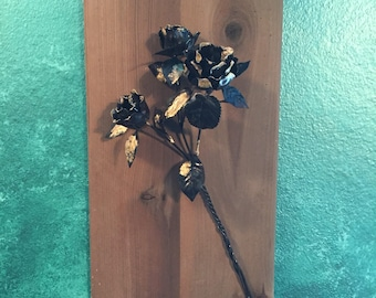 Rose flowers wall hanging