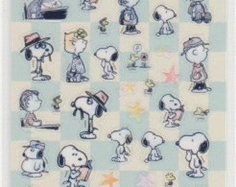Snoopy Stickers - Snoopy Schedule Stickers - Reference A6331