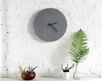 Medium Clock - Greywashed Ash