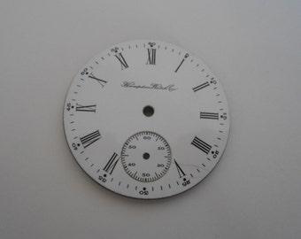 Hampden Pocket Watch Porcelain Dial For size 16 movement