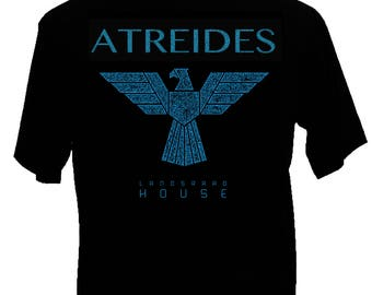 New Dune House Atreides Mens Shirt House of the Landsraad.