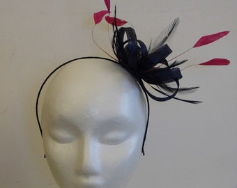 Fascinator -  Hackle and coques
