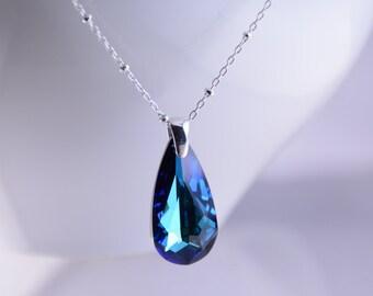 Mother's day gift - Swarovski crystal pendant, Swarovski crystal necklace