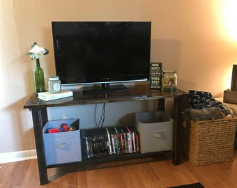 Industrial Media Console TV Stand