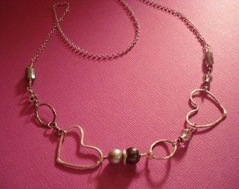 Crazy Hearts Necklace
