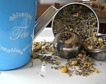 Sleepy Time Herbal Tea - Healthy Loose Leaf Tea - All Natural Herbal Tea - Caffeine Free Herb Tea - Tea Lover's Gift - Boondock Enterprises