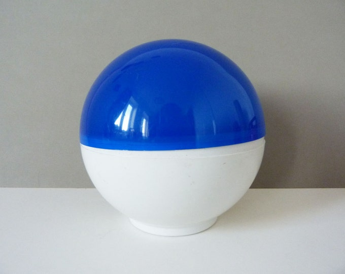 Varta pool party lamp light 1970's space age Blue