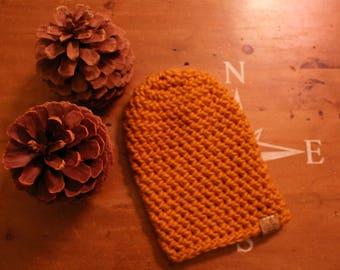Classic Crochet Beanie / Women's Crochet Hat / Handmade Slouch Beanie