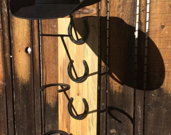 Reclaimed Wood Hat Rack *FREE SHIPPING*