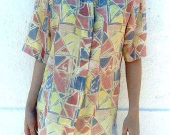 Geometric vintage shirt