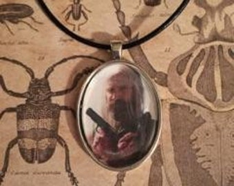 The Devils Rejects Otis B. Driftwood Portrait Necklace