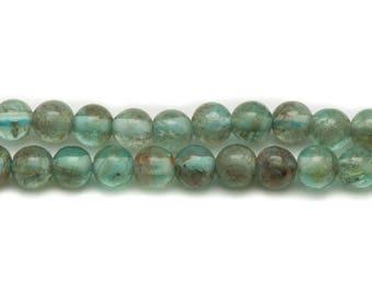 10pc - stone beads - Apatite balls 3mm 4558550025739