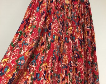 Wide folklore colorful skirt by Oilily