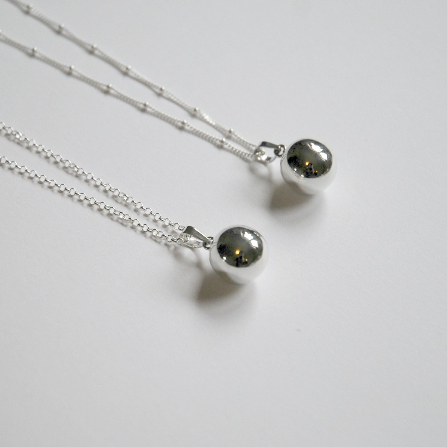 Harmony ball necklace sterling silver harmony ball pendant zoom aloadofball Images