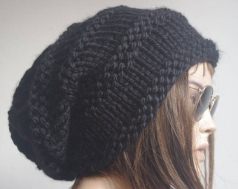 winter hat hats womens hats black  knit hat beanie women womens hats winter winter hats slouchy hat knitted hat